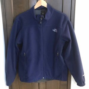 North face polar fleece jacket